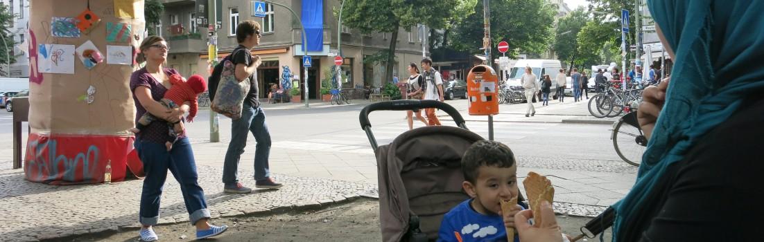 Berlin 12047 - Reuterstraße/Weserstraße