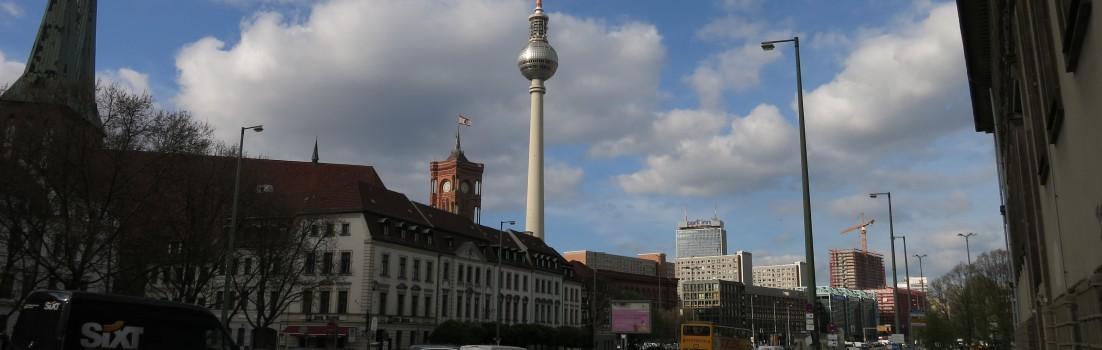 Berlin 10178 - Mühlendamm + Fernsehturm