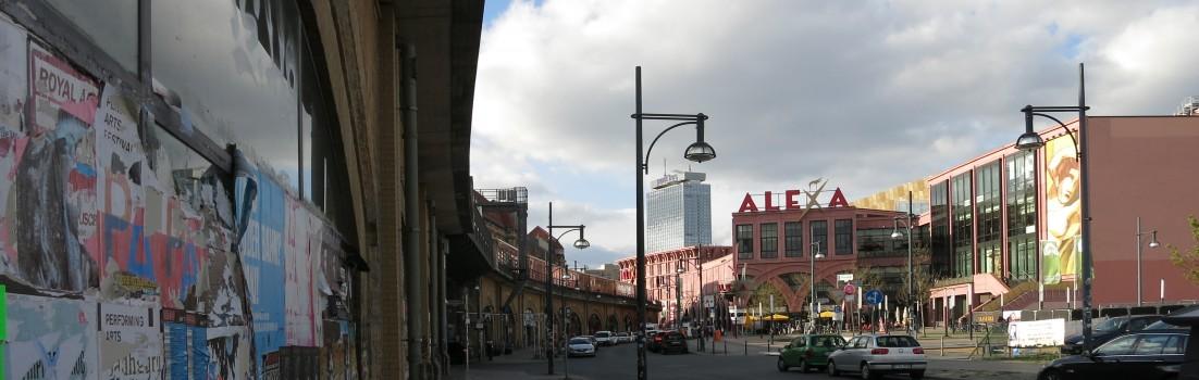 Berlin 10178 - Dircksenstraße, Bahnbogen, Alexa