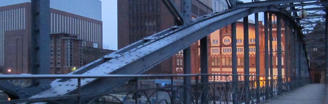 Berlin 10587 - Siemenssteg, Vattenfall