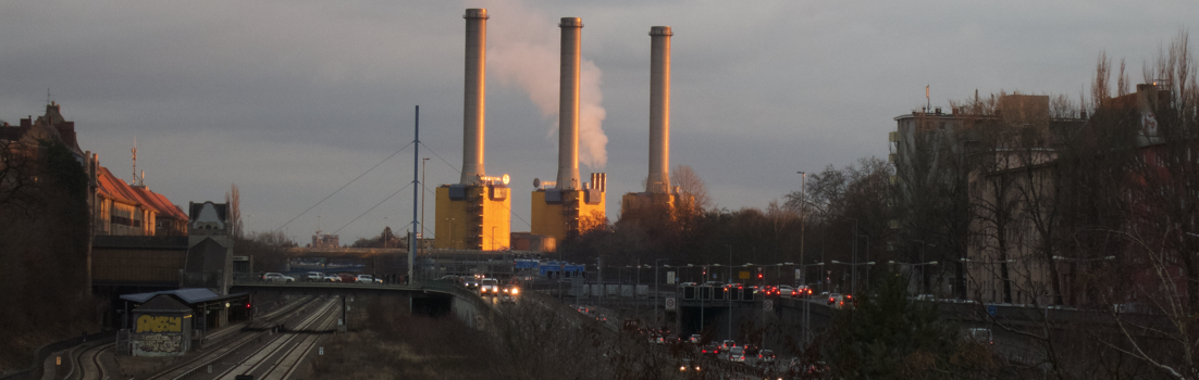 Berlin 10711 - A100 + Kraftwerk Wilmersdorf