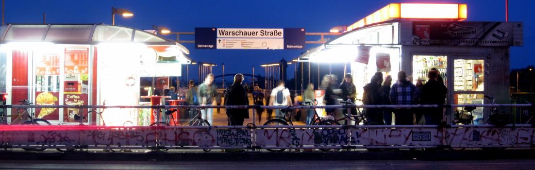 Berlin 10243 - Warschauer Straße/Brücke
