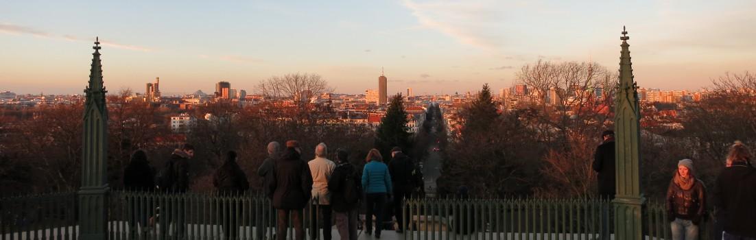 Berlin 10965 - Victoriapark, Blick vom Kreuzberg
