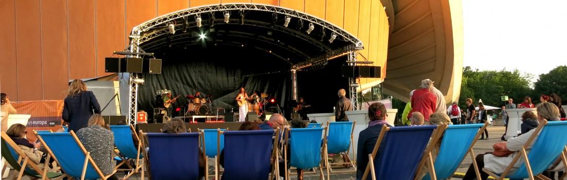 Berlin 10557 - Haus der Kulturen der Welt HKW - Konzert Monika Besser