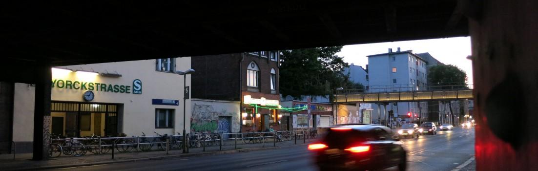 Berlin 10965 - S- und U-Bahnhof Yorckstraße