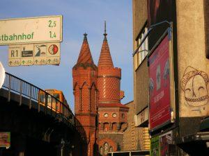 Berlin 10997 - Schlesisches Tor, Oberbaumbrücke